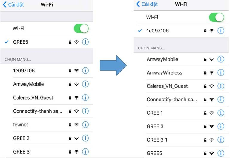 điều khiển điều hòa gree wifi