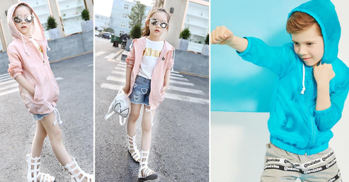 Chọn mua áo chống nắng dành cho trẻ em phù hợp với giới tính, màu sắc