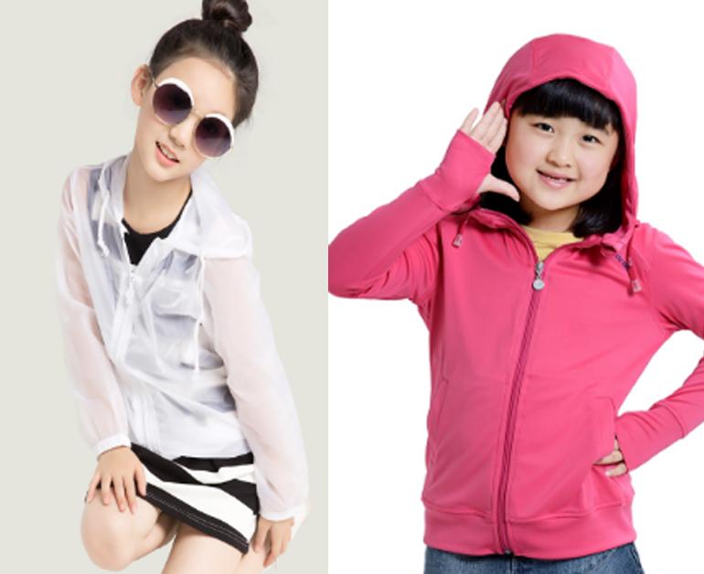 Chọn mua áo chống nắng dành cho trẻ em theo chất liệu