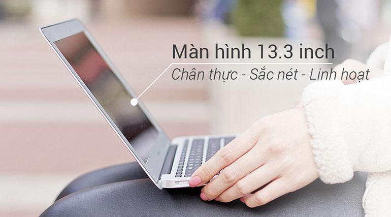 Laptop Apple Macbook Air 13 MQD32SA/A thiết kế hiện đại, màn hình rộng lớn hơn, tiện cho người sử dụng, ngoài ra nó còn đem đến khả năng vận hành cực cao giúp bạn chơi game, xem phim, nghe nhạc cực mượt