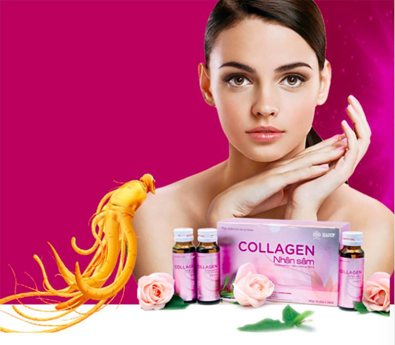 Collagen Nhân Sâm – Nhất Dáng, Nhì Da