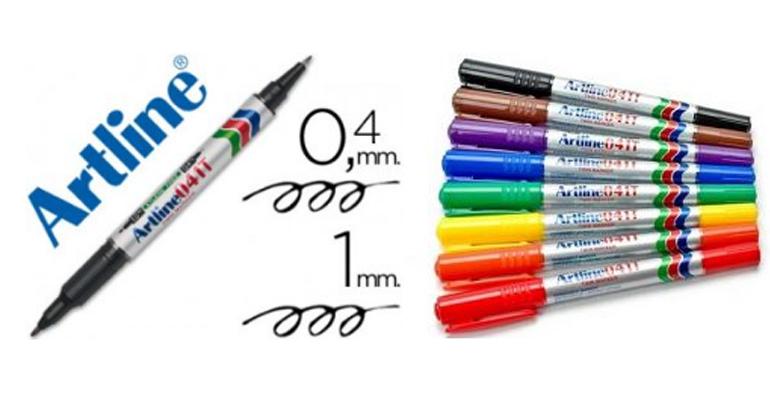 Bút lông dầu 2 ngòi Artline EK-041T