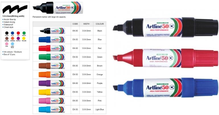 Bút lông dầu Artline EK-50