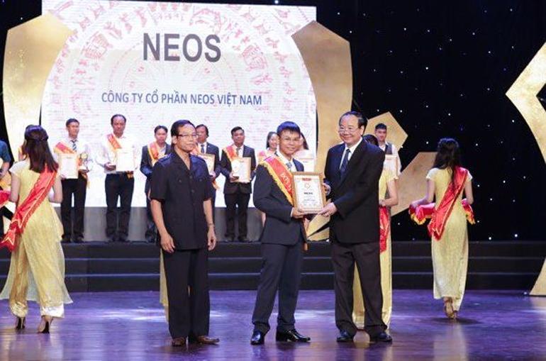 Neos Vietnam vinh dự nhận giải TOP 10 thương hiệu ưa chuộng do người tiêu dùng bình chọn năm 2018