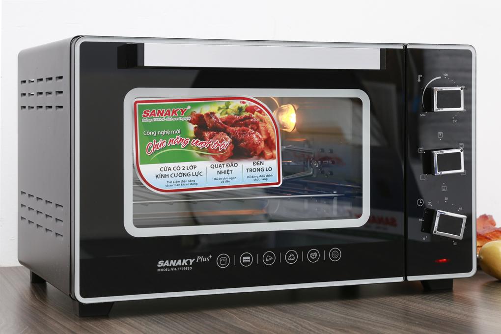 Nên mua lò nướng Sanaky loại nào? Lò thùng hay thủy tinh?