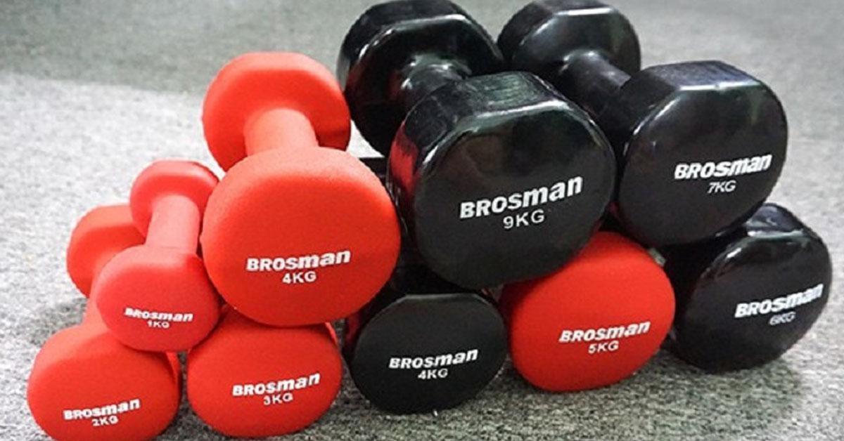 Tạ tay Brosman của nước nào? Có đắt không?