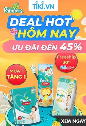 Pampers - Tung Deal chất tại Tiki